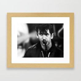 ALEX TURNER Framed Art Print
