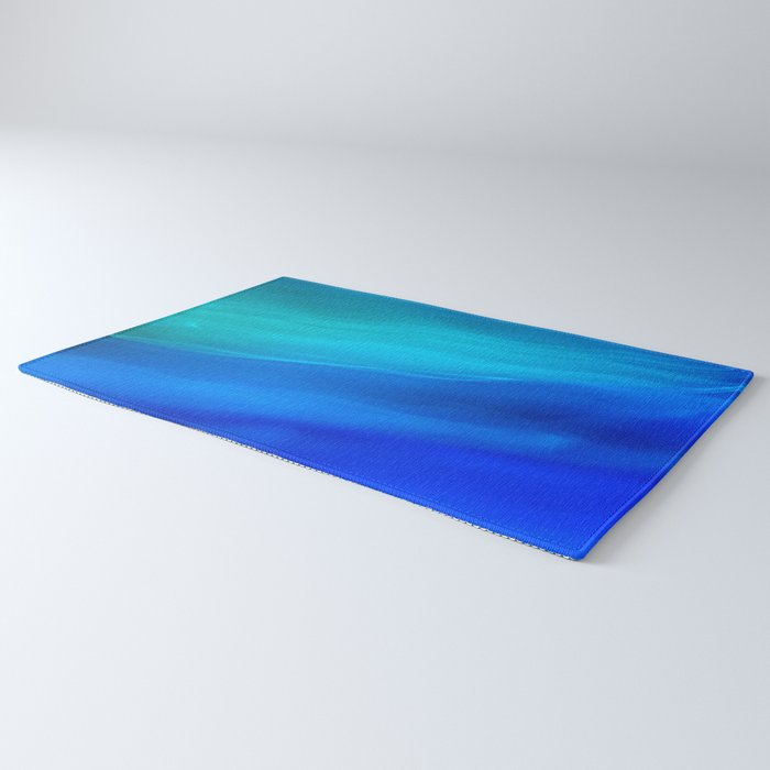 Blue Ocean abstract Rug