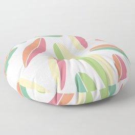 Hawaii Surfboards Minimalist Floor Pillow