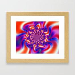 Jokers Swirl Framed Art Print