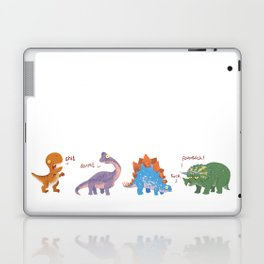 Potty Mouth Dinos Group Laptop & iPad Skin