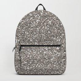 Silver Glitter I Backpack