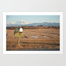 Mt. Baker Art Print