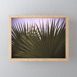 Fan Palm Love Framed Mini Art Print