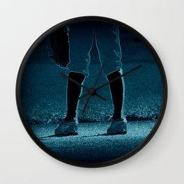 Short Stop Wall Clock