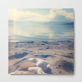 Beach Bows Metal Print