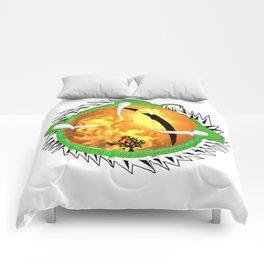Jade Dragon's Eye Comforters