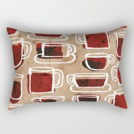 morning pattern Rectangular Pillow