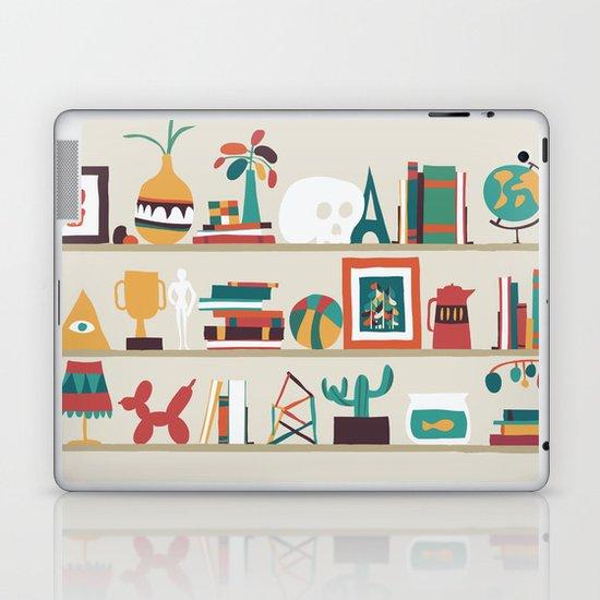 The shelf Laptop & iPad Skin