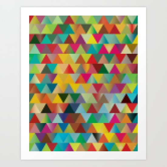 Colors III Art Print