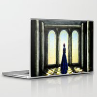 bride Laptop & iPad Skins featuring The Bride by Viggart