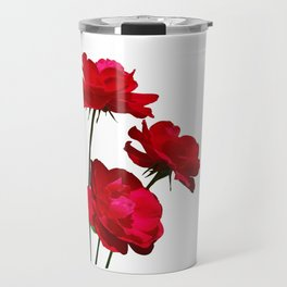 Roses are red, really red! Travel Mug