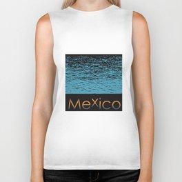 Mexico Logo Biker Tank