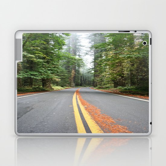 Avenue Of The Giants Laptop & iPad Skin