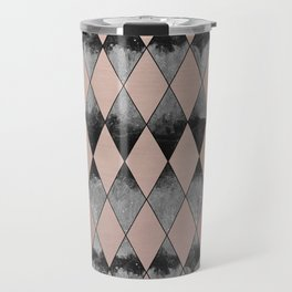 Geometric Diamond Glam #1 #geo #decor #art #society6 Travel Mug