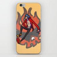 gurren lagann iPhone & iPod Skins featuring gurren lagann - kamina by gutter