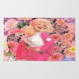 Dolly Parton Saint Dolly Rug