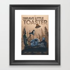 The Brave Little Toaster Framed Art Print