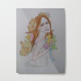 Sharon den Adel. Metal Print