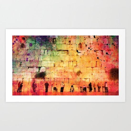 kotel Art Print