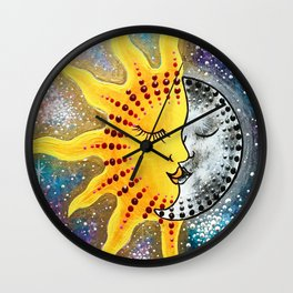 Always Kiss Goodnight Wall Clock