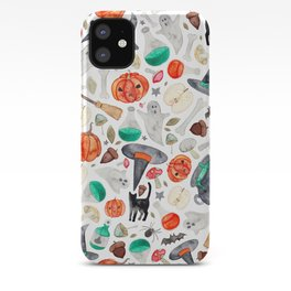 Halloween Pattern iPhone Case