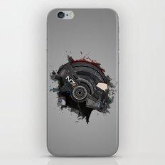 Beloved Helmet iPhone & iPod Skin