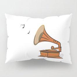 Vintage Gramophone Pillow Sham