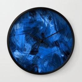 C13D Brush Off Wall Clock