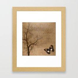 The Butterfly II Framed Art Print