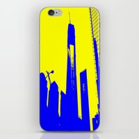 metropolis iPhone & iPod Skins featuring Metropolis by osile ignacio