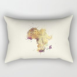 Africa map 5 #africa Rectangular Pillow