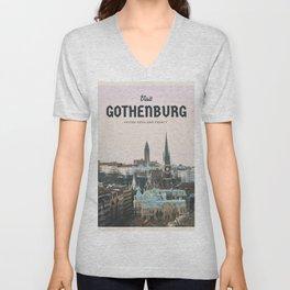 Visit Gothenburg Unisex V-Neck