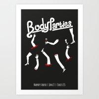 Body Parties Art Print