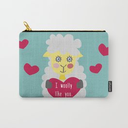I woolly like you! Carry-All Pouch