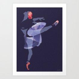 Suspended Movement Art Print