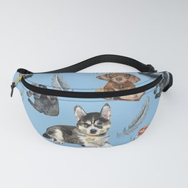 School of dogs Fanny Pack