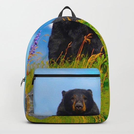 Alaskan Black Bear Backpack