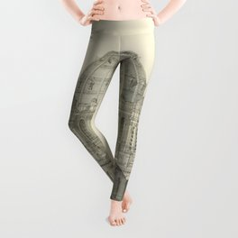 Church of St. Augustine Paris Leggings