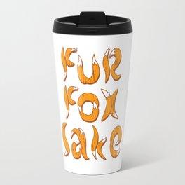 fur fox sake Travel Mug