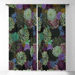 Remember Succulent Blackout Curtain