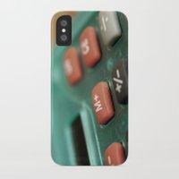 math iPhone & iPod Cases featuring Math by Big Tortoise Art (Art by JasonKoelliker)