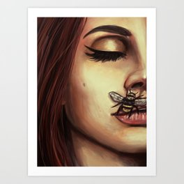 Dark Paradise Art Print