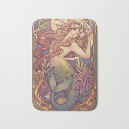 Andersen Little Mermaid Nouveau Bath Mat