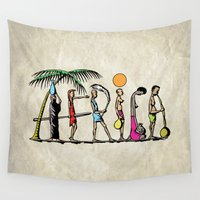 africa Wall Tapestries featuring AFRICA by Anthony Mwangi