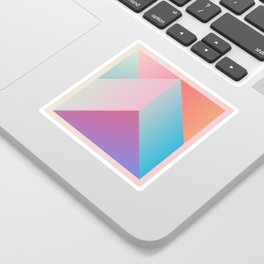 Ultra Geometric Sticker