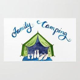 Family Camping Rug