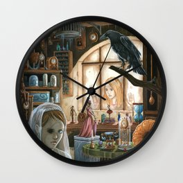 Old Things Wall Clock