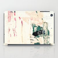 posters iPad Cases featuring Posters by Patterns and Textures