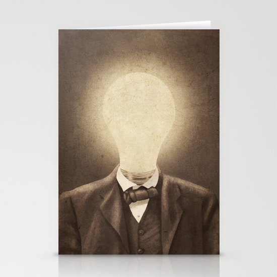 The Idea Man  Stationery Cards